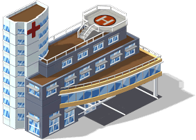 mun hospital SE CityVille Community Buildings Guide